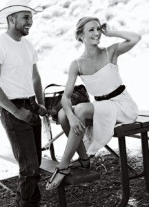 Cameron Diaz cover girl photo shoots of VOGUE Magazine June 2009 issue 8