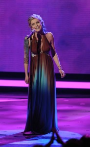 Megan Joy Corkrey performs on AMERICAN IDOL on March 17th 2009