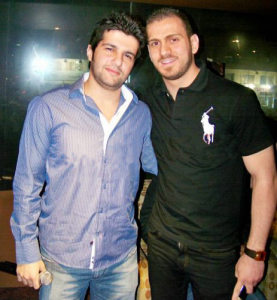Pictures of Nazem Ezzideen and Michel Rmeih after they left the academy 7