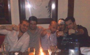 new Picture of Nazem Ezzideen, Michel Rmeih, Nasser Abu Lafia, and Mohamed Qwaider