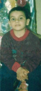Pictures of Yahia Sweis before joining the academy when he was three years old