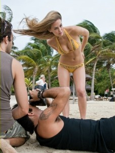 Bar Refaeli pictures of the the Sports Illustrated magazine 2