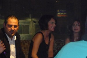 Ines Aswad from Tunis and Khawla Bin Imran during there visit to Jordan Amman