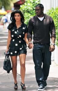 kim kardashian Spotted in Miami with Reggie and Kourtney on May 18th 2009 7