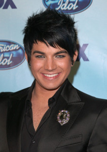 Adam Lambert in the press room during the American Idol Season 8 Grand Finale held at Nokia Theatre L A  Live on May 20th, 2009 in Los Angeles, California