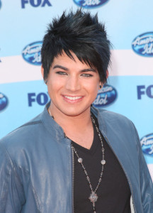Adam Lambert arrives at the American Idol Season 8 Grand Finale held at Nokia Theatre L.A. Live on May 20, 2009 in Los Angeles, California