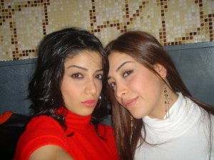 Tania Nemer and her sister Elian