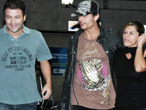 Jesus Luz arrives to town to celebrate mothers day with his mom Cristiane