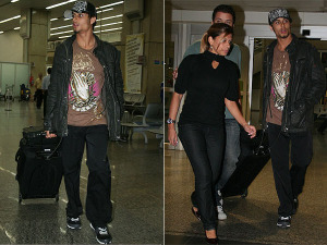 Jesus Luz arrived at the airport of Rio in Brazil on May 16th 2009