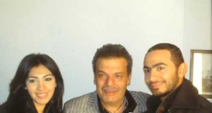 Mirhan Hussein pictures with Tamer Hosni 7