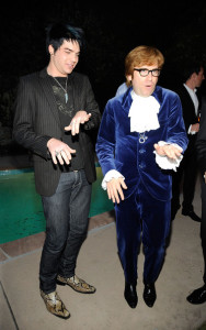 Adam Lambert attends the Champagne Launch Of BritWeek 2009 on April 23rd 2009 at the British Consul Generals Offcial Residence in California 2