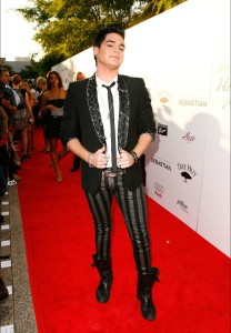 desktop wallpapers of Adam Lambert arrival at the Hollywood Life 11th Annual Young Hollywood Awards on June 9th 2009 7