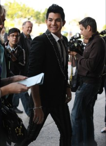 desktop wallpapers of Adam Lambert arrival at the Hollywood Life 11th Annual Young Hollywood Awards on June 9th 2009 10