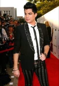 desktop wallpapers of Adam Lambert arrival at the Hollywood Life 11th Annual Young Hollywood Awards on June 9th 2009 9