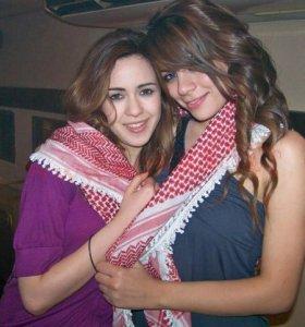 Diala Ouda with Khawla Bint Imran in Amman Jordan