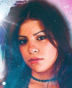 Diala Ouda face closeup picture