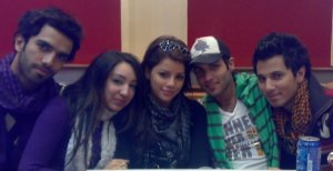 Yahia Sweis photo with Diala Oudeh and Mohamed Serag
