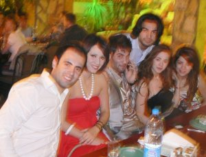 Yahia Sweis photo with Diala Ouda Zaher Zorgatti Khawla Bent Imran and Ines Lasswad