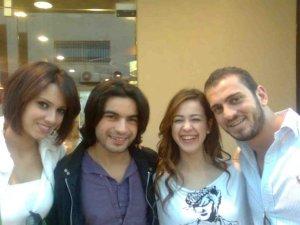Nazem Ezzideen photo in Amman Jordan with Iness Laswad, Zaher Zorgatti and Khawla Bin Imran