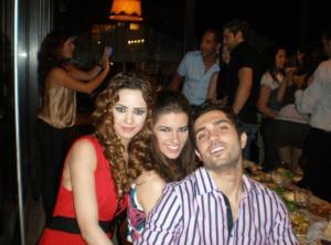 Mohamd Bash with Lara Scandar and Khawla Bin Imran