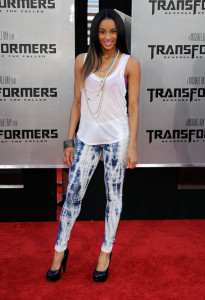 Ciara at the Premiere of Transformers Revenge Of The Fallen 2009 Movie held at Mann Village Theatre on June 22nd 2009 in Los Angeles California 1