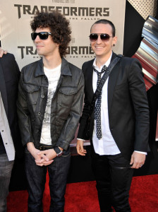 Linkin Park at the Premiere of Transformers Revenge Of The Fallen 2009 Movie held at Mann Village Theatre on June 22nd 2009 in Los Angeles California 1