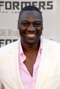 Adewale Akinnuoye Agbaje at the Premiere of Transformers Revenge Of The Fallen 2009 Movie held at Mann Village Theatre on June 22nd 2009 in Los Angeles California