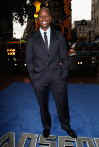 Tyrese Gibson at the UK Premiere of Transformers Revenge of the Fallen movie held at Odeon Leicester Square on June 15th 2009 in London England 3