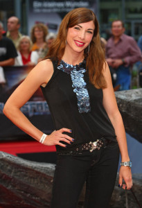 Alexandra Polzin at the German premiere of Transformers Revenge Of The Fallen at the Sony Center CineStar on June 14th  2009 in Berlin Germany 2