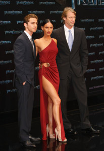 Megan Fox and Shia LaBeouf at the German premiere of Transformers Revenge Of The Fallen at the Sony Center CineStar on June 14th  2009 in Berlin Germany 1