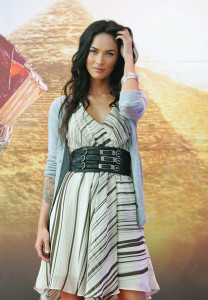 Megan Fox at the movie Transformers Revenge of the Fallen press conference at Kring on June 10th 2009 in Seoul  South Korea 1