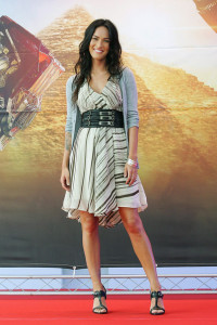 Megan Fox at the movie Transformers Revenge of the Fallen press conference at Kring on June 10th 2009 in Seoul  South Korea 2
