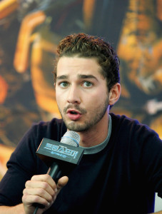 Shia LaBeouf at the movie Transformers Revenge of the Fallen press conference at Kring on June 10th 2009 in Seoul  South Korea 2