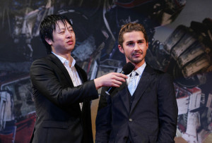Shia LaBeouf at the Transformers Revenge of the Fallen South Korea Premiere at Yongsan CGV on June 9th 2009 in Seoul South Korea 1
