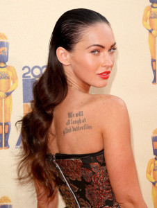 Megan Fox arrives at the 18th Annual MTV Movie Awards on May 31st 2009 in California 1