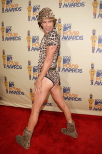 Sacha Baron Cohen attends the 18th Annual MTV Movie Awards on May 31st 2009 4