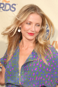 Cameron Diaz arrives at the 18th Annual MTV Movie Awards on May 31st 2009 4