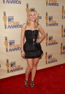 Kristen Bell attends the 18th Annual MTV Movie Awards on May 31st 2009 1