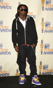 Lil Wayne attends the 18th Annual MTV Movie Awards on May 31st 2009 2
