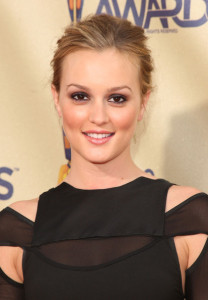 Leighton Meester attends the 18th Annual MTV Movie Awards on May 31st 2009 2