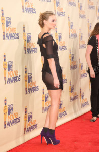 Leighton Meester attends the 18th Annual MTV Movie Awards on May 31st 2009 1