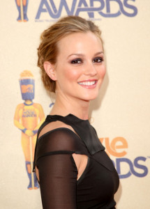 Leighton Meester attends the 18th Annual MTV Movie Awards on May 31st 2009 3
