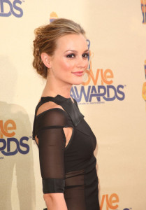 Leighton Meester attends the 18th Annual MTV Movie Awards on May 31st 2009 4
