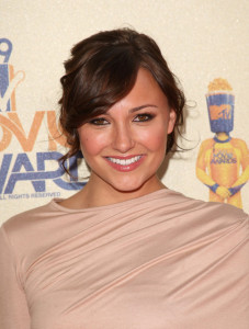 Briana Evigan at the 18th Annual MTV Movie Awards on May 31st 2009