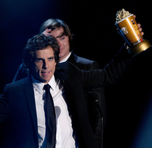 Ben Stiller at the 18th Annual MTV Movie Awards on May 31st 2009
