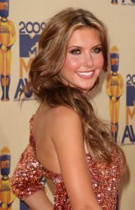 Audrina Patridge at the 18th Annual MTV Movie Awards on May 31st 2009