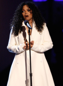 Janet Jackson speaks about her brother Michael Jackson onstage during the 2009 BET Awards held at the Shrine Auditorium on June 28th in Los Angeles 6