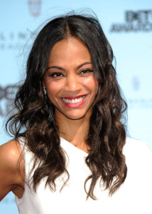 Zoe Saldana arrives at the 2009 BET Awards held at the Shrine Auditorium on June 28th 2009 in Los Angeles 3