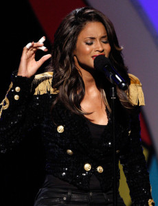 Ciara performs onstage during the 2009 BET Awards held at the Shrine Auditorium on June 28th 2009 in Los Angeles 3