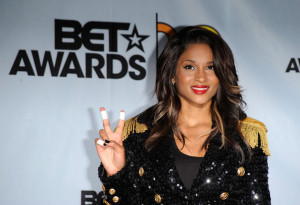 Ciara in the press room during the 2009 BET Awards held at the Shrine Auditorium on June 28th 2009 in Los Angeles 1